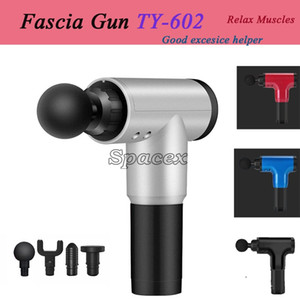 Fascia Massage Gun Muscle TY-602 Therapy Exercise Relaxation Sports Fitness Electric Health Gadgets Relief Body Blood Circulation