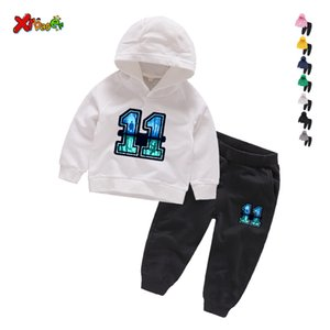 Stranger Things 11 Boy Girl Clothes Children Suits Casual Clothing Sets Suit Sweatshirts+sports Pants Spring Autumn Kids Set