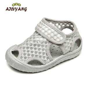 Ailvyang Brand Bébé Baby Boys Girl Summer maille Sandales Chaussures Enfants Respirant Plage Chaussure Chaussures Toddlers Casual Appartements Anti-Slip Chaussures A09 LJ200904