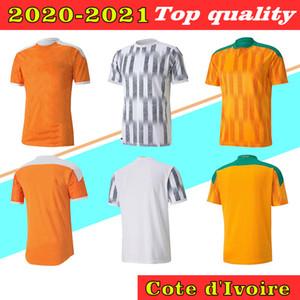 2020 2021 Fildişi Sahili Ulusal Takım Futbol Suit Drogba Casey Zaha Konet Yeni erkek Futbol Gömlek