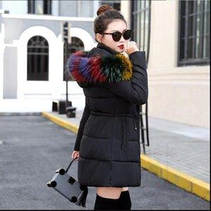 Dugujunyi 2020 New Parkas Female Women Winter Coat Thick Cotton Winter Jacket Womens Outwear Parkas for Women down jacket