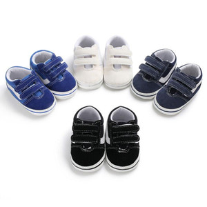 Infant Baby Boy Girl Shoes Sneakers Soft Sole Crib Kid Solid Baby Shoes