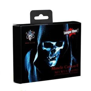 Аутентичные Demon Убийца Muscle Хлопок II 100% хлопок Tasteless Wick Подходит для RBA RTA RDA RDTA Longer волокна E сигареты DHL Free