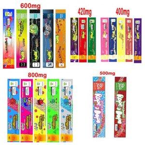 로프 빈 가방 플라스틱 편집기 소매 포장 20 스타일 냄새 가방 패키지 400mg 420mg 600mg 800mg dhl 무료