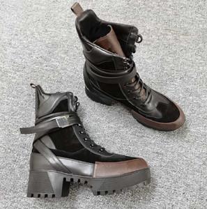 Martin con scatola Sneaker Casual Trainers Moda Sport sportivi Moda Stivali in pelle di alta qualità UE: 35-42 per donna di Shoe02 Z6WT