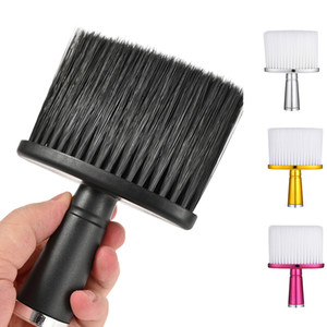 Soft Hair Brush Neck Duster Hairdressing Hair Cutting Styling Cleaning Brush Care Styling Cleaning Brush Salon Broken Hairbrush