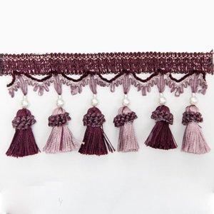 1 m Beutel Quaste Vorhang Fransen Dekorative Vorhang Trimmtier Fransen Vorhang Zubehör Spitze Trim 1 M Bag H Jlldth
