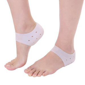 A Pair Unisex Silicone Increase Insoles Invisible Non-slip Men Soft Heightening Half Pad Insert Height Arch Reusable Support Pad