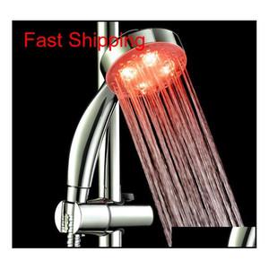7 색 변경 다채로운 LED 샤워 헤드 LED 물 샤워 헤드 라이트 GL jlljvm outbag2007