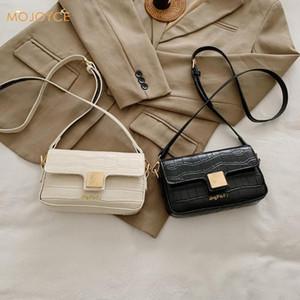 Women PU Leather Crossbody Purse Mini Vintage Alligator Solid Shoulder Phone Bag