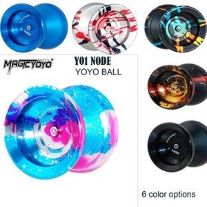 MagicyOYO Y01 Node Yoyo Ball Professionnel Metal Yoyo 10-Ball Roulements W / Rope Yoyo Toys Cadeau pour enfants Enfants 201214