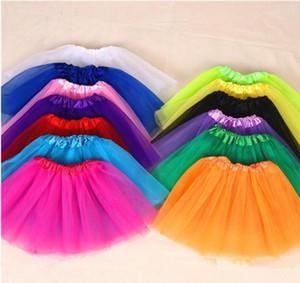 Princesse Robes Adulte Princesse Jupes De Top Qualité Candy Couleur Skrits Jupe adulte Toutus Jupe Soft Ballet Pettiskirt Vêtements 10 couleurs WMQ73
