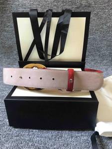 الأزياء أفضل نوعية أسود أبيض أحمر أزرق توقيع جلدية الرجال حزام مع مربع الرجال مصممين أحزمة الذهب والفضة مشبك المرأة حزام 03