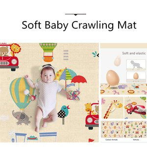 Portable Foldable Baby Play Mat Puzzle Children's Foam Mat Thickened Baby Room Crawling Pad Game Blanket Baby Carpet Z1123