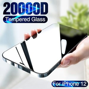 3PCS for iPhone 11 12 mini Pro Max X XR XS tempered glass film screen protector to fully protect the glass curved edge