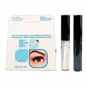 2020 arrival Eyelash Adhesives Eye Lash Glue brush-on Adhesives vitamins white clear black  5g New Packaging Makeup Tool