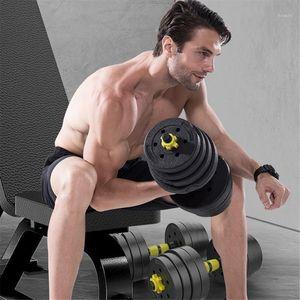US STORE 2020 New Adjustable Dumbbell Set 40kg Household Combination Dumbbell High Quality Dumbbells Fitness Equipments1