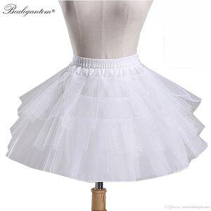 2021 Heißer Verkauf Ballkleid auf Lager Hochzeitszubehör KidsPetticoat Ballkleid Unterrock für Kinder Blumenmädchenkleider Crinoline Q141