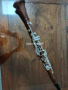 Nouveaux produits à vendre Clarinet Drop B Tuning Bois rouge Instrument de musique professionnelle avec accessoires de clarinette Livraison gratuite