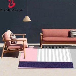 Bubble Kiss Home Wohnzimmer Teppich 100% Polyester Komfortables weiches und rutschfestes Moderne Home Carpet Decoration1
