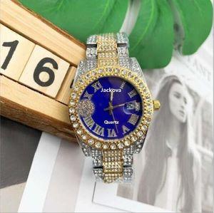 montre de luxe mens womens diamond watches automatic quartz movement full stainless steel watch Super luminous Sapphire glass clock table