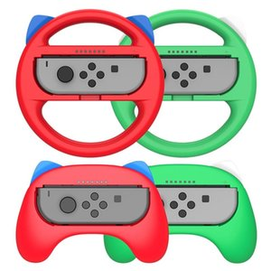 for Switch Game Console Handle NS Left and Right Handle Game Console Steering Wheel Set