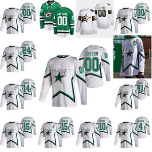 Dallas Stars 2021 Reverse Retro Hockey Jerseys 24 Roope Hintz Jersey Jamie Benn Alexander Radulov Tyler Seguin Ben Bishop Custom Stitched