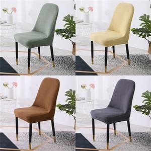 Ark Sandalye Muhteşem Yarım Dairüsküler Elastik Kanepe Evrensel Arkalığı Koruyucu Ofis Sandalyeleri Malzemeleri Kapak Yemek Odası Ev Hanehalkı 10YG K2