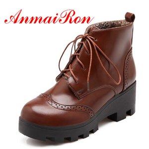 ANMAIRON Fashion Donne Stivali invernali Pelliccia all'interno 3 Colori classici Pompe tacco alto per primavera / Autunno Dimensione 34-43