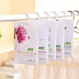 Fresco Air profumato Fragranza Casa Guardaroba Cassetto Auto Perfume Sachet Bag Sacchetto Aromaterapia Pacchetto per la casa Car DHF3515