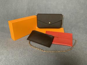 2019 nuove borse borse borse borse moda donne borse a tracolla borsa di qualità taglia 21 * 11 * 2 cm modello 61276 con scatola
