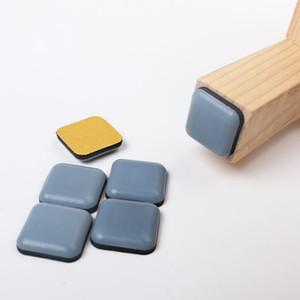 4 шт. Slider Pad Мебельная таблица Основы защитника Carpet Ground Magic движущийся антиабразивный коврик для домов для дома