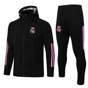 REAL MADRID20 21 football jersey HAZARD SERGIO RAMOS BENZEMA VINICIUS ISCO JAMES camiseta men's windbreaker suit