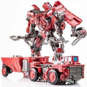 AOYI SS New Transformation toys Devastator Movie DD01 anime Action FIgure Robot car tank model kids boy Toys best gift H6001-8