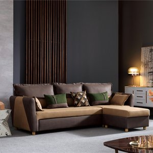 Modern Design Sofa Set Design Living Room Furniture L shaped Sofa with Lockers Sofa Bed Luxury Furniture