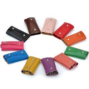 Car keys holder packages Genuine leatherKey bag leather bag manufacturers selling wholesale and OEM custom-made man car keys