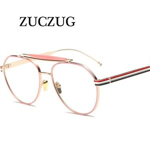 Zuczug Fashion Spectacle de verre Spectacle Femmes Hommes Retro Opticial Eyewear Cadre Eye Lunettes Cadre Hommes Eyeglasses UV400