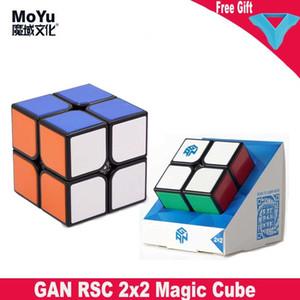 GAN RCC 2x2x2 Волшебный кубик Natureless Pocket Speed Cubes 2x2 Professional Puzzle Cube Развивающие игрушки второго порядка Кубо Magico J1204