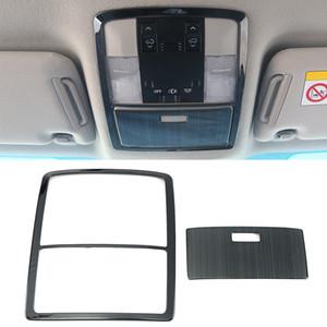 For Toyota Land Cruiser Prado J150 2010-2020 Car Accessories Roof Reading Light Trim Cover Sticker Frame Stainless Moulding