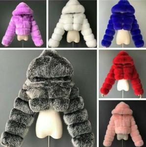 Frauen pelz jacken designer kleidung 2020 mode kurze nachahmung pelz mantel nachahmung fuchs pelz langarm stich mantel heißer verkaufen neu