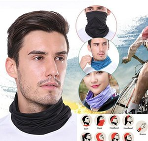 25 Colors Fashion Bandana Face Mask Outdoor Sports Headband Turban Wristband Headscarf Neck Gaiter Magic Scarve wmtImz dh_garden