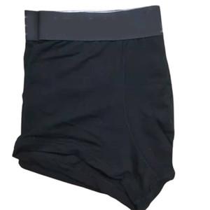 NOUVEAU homme Sous-vêtements Boxer Shorts coton Sexy Boxer noir Gay Mens de sous-vêtements Lettre Adulte Boxershorts Soft Hommes Boxers Mode Main Sous-vêtements