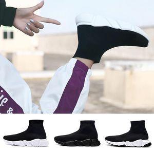 Balenciaga Sock shoes Luxury Brand Chaussettes pour hommes, femmes chaussures rouge blanc noir Triple Casual Fashion Designer de démarrage de la cheville Sneakers