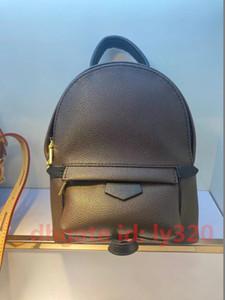 Vente en gros de qualité supérieure Mini sac à dos Sac à dos en cuir d'oxyde Sac à dos en cuir 41560 Sac à bandoulière en cuir véritable Mini sac à dos de sac à dos