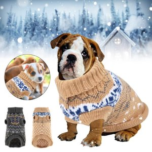 Winter Dog Pet Sweater Warm Pet Jumpers Comfortable Coat Costume Puppy Jumper Kitten Clothes Apparel for Small Medium Cats
