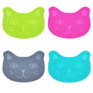 Non Slip Cat Dogs Pads 30*40cm PVC Anti Cats Sanding Litter Mats Basin Pet Supplies Kitty Rub Feet Mat High Quality 3 6jn M2