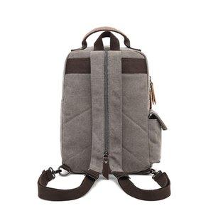 Canvas Cross Body Retro Messenger Bag Shoulder Sling Backpack Travel Rucksack