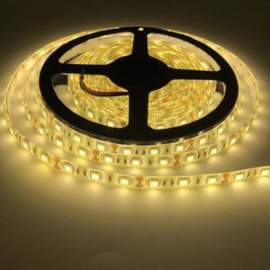 LED Light Strip 5050 Monochrome Warm White Epoxy Waterproof Non-Waterproof Soft Light Strip 60 Lights 12V Luminous Strip Per Meter