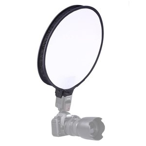 30cm Universal Round Style Flash Folding Soft Box Without Flash Light Holder