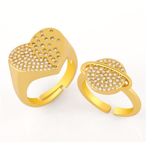 New Jewellery Heart Shape Zircon Ring Fashion Womens Insfashion Star Ball Ring Rij80 New Jewellery sqcrwd lihuibusiness